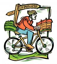 beyond edinburgh guided cycle ride image